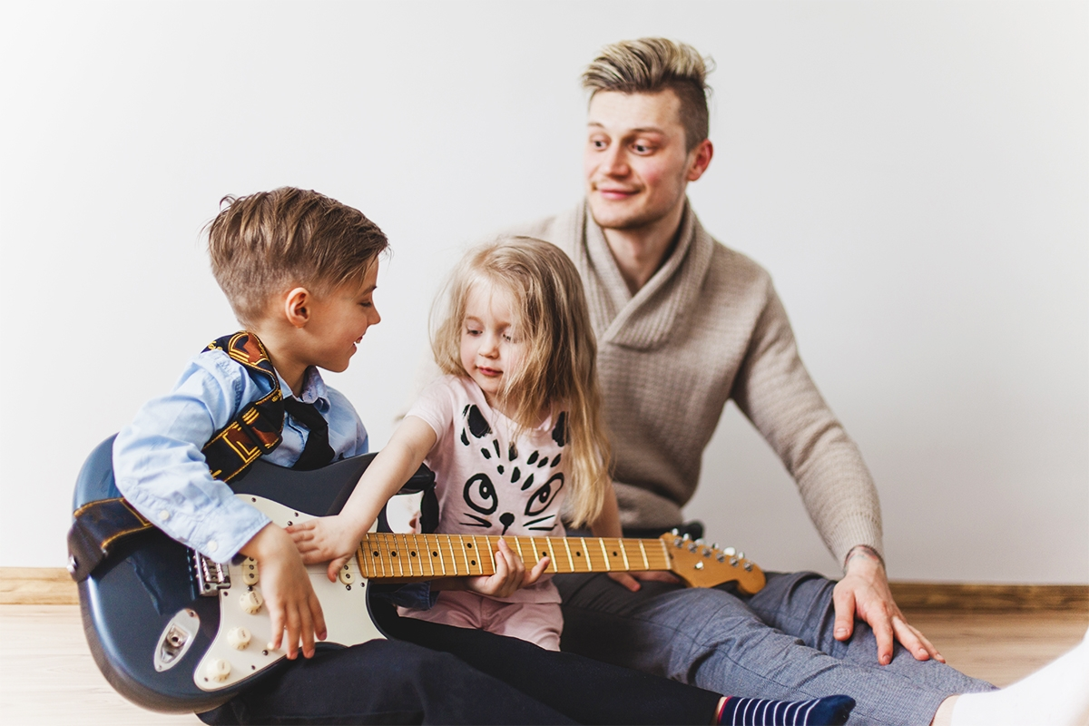 Benefici della musica suo bambini